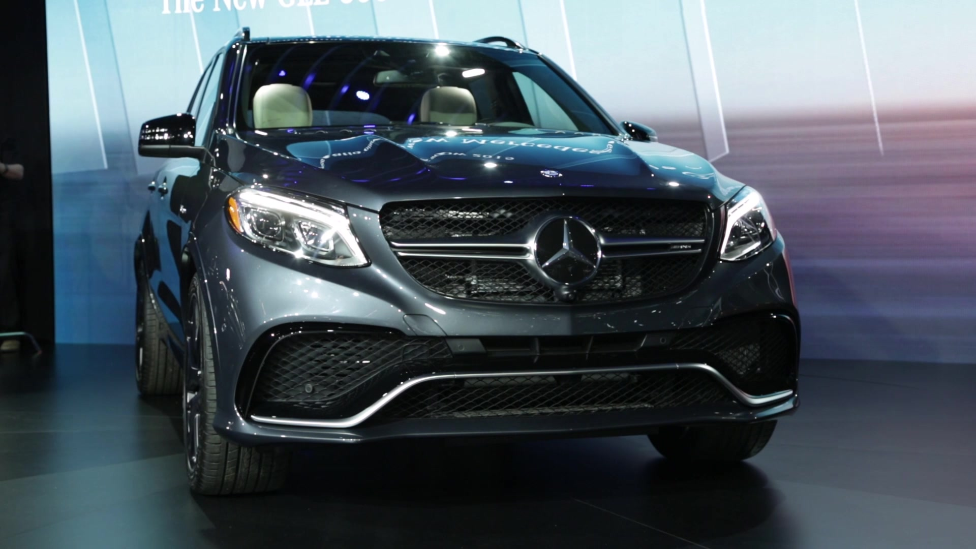 Mercedes-Benz GLE Class | 2015 NYIAS