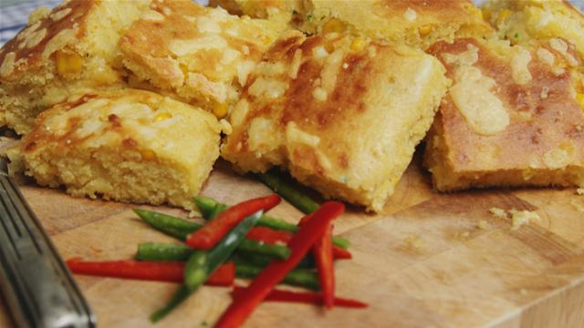 Chilli and Cheese Cornbread Recipe