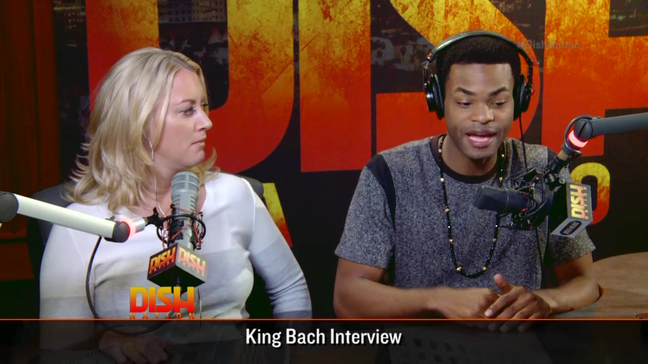 Vine Star King Bach Stops By DIsh Nation