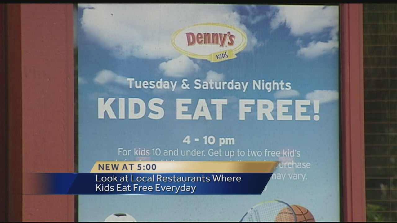 Find Restaurants Where Kids Eat Free