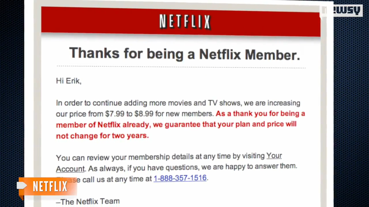 The Netflix Price Hike Is Here