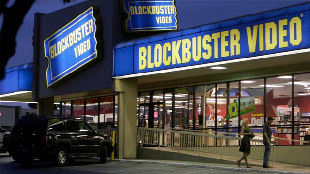 Blockbuster Finally Bites the Dust, and More