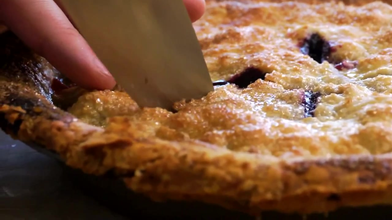 Billy Parisi's Homemade Blueberry Pie Recipe