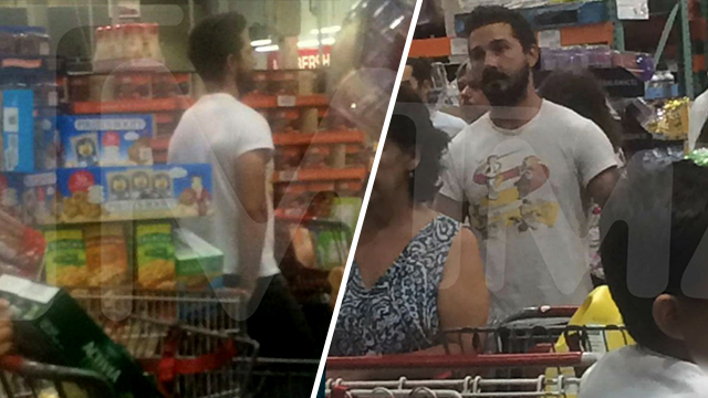 Shia Labeouf Makes a Costco Run