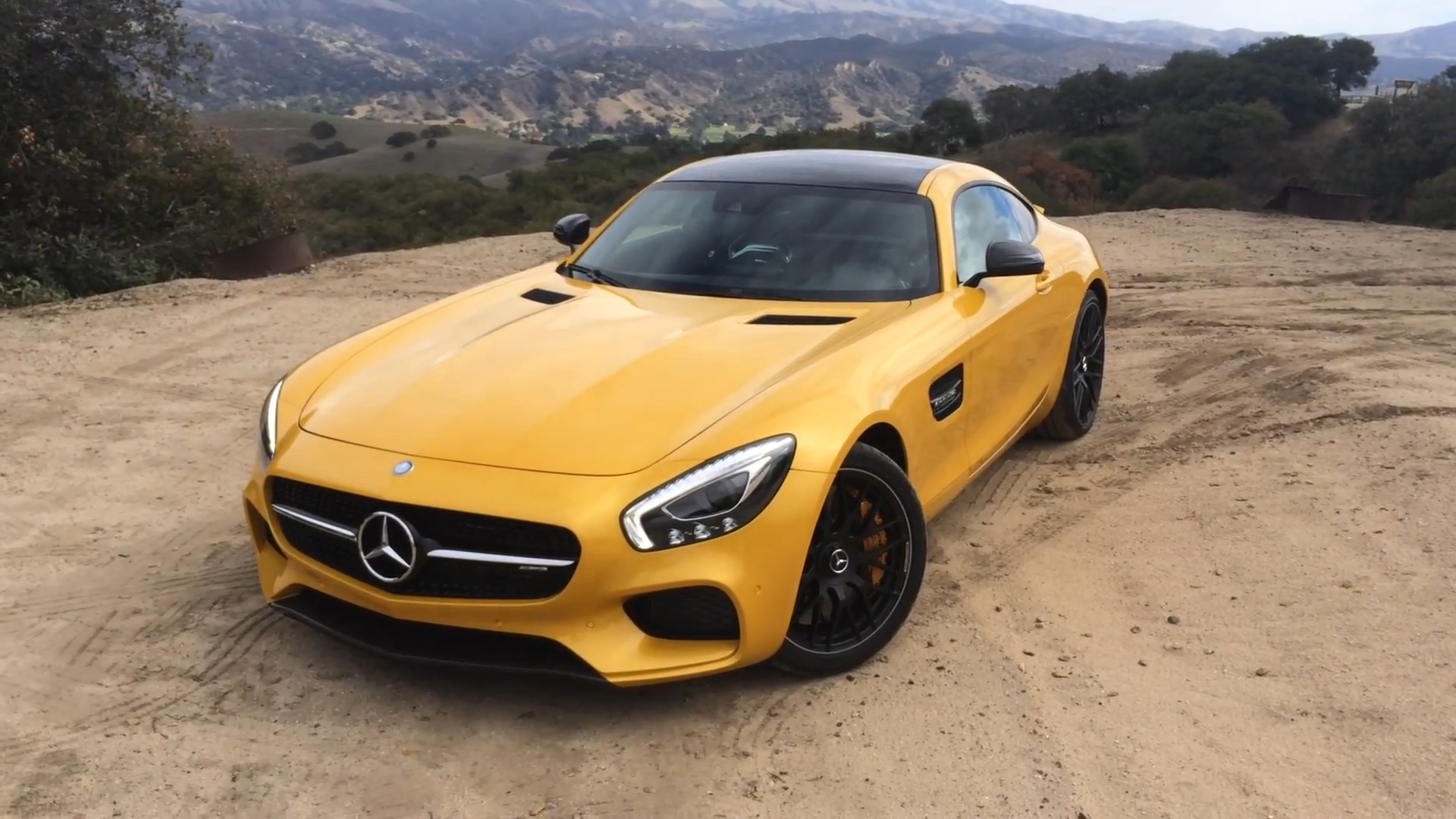 2016 Mercedes-AMG GT at Laguna Seca | On Location