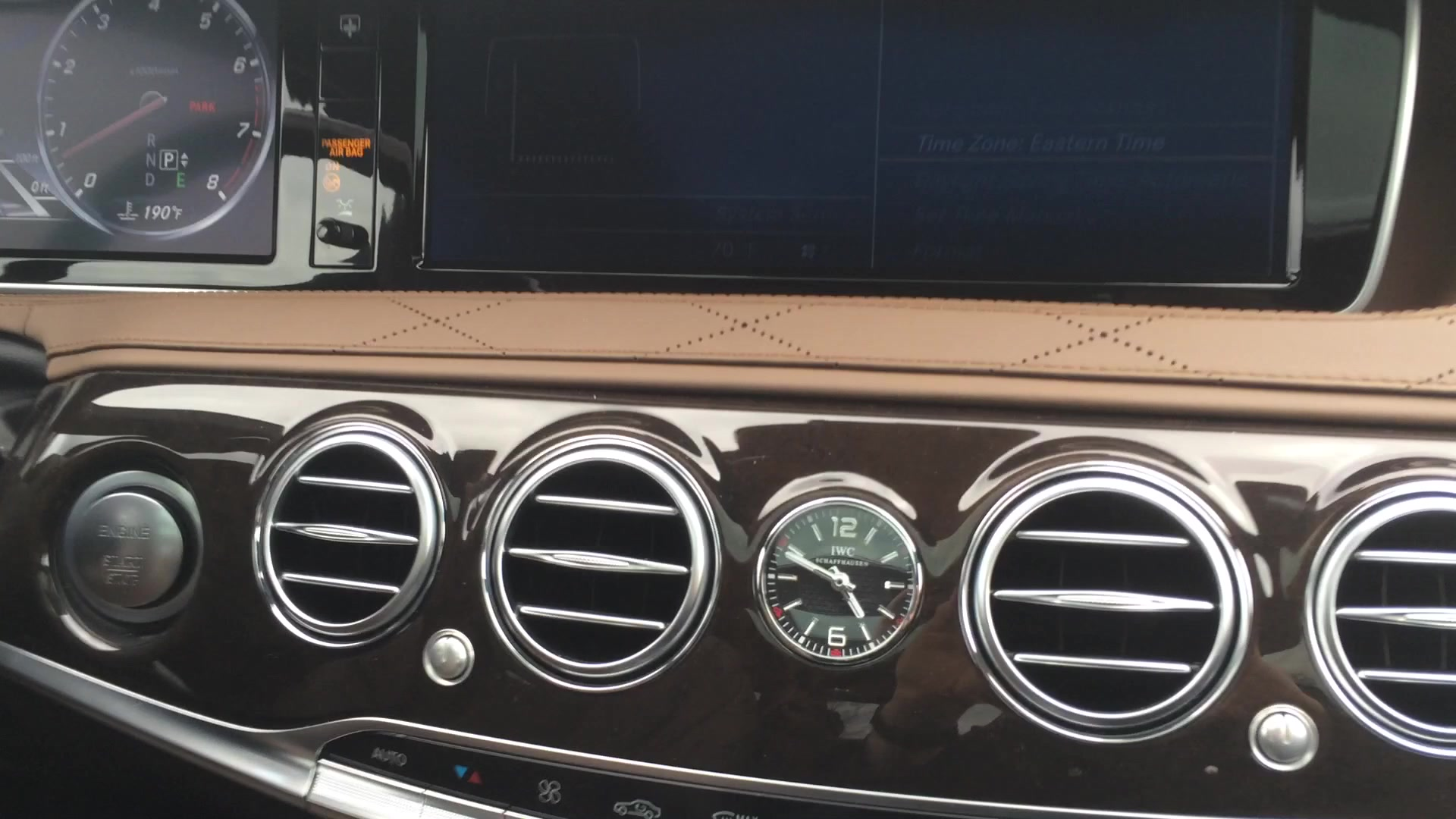 2016 Mercedes-Maybach S600 IWC Schaffhausen Clock | Autoblog Short Cuts