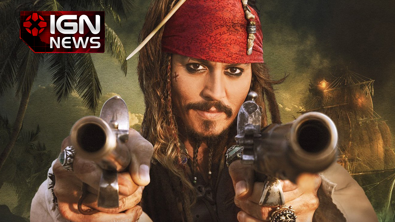 Here's Johnny Depp in 'Pirates of the Caribbean 5'