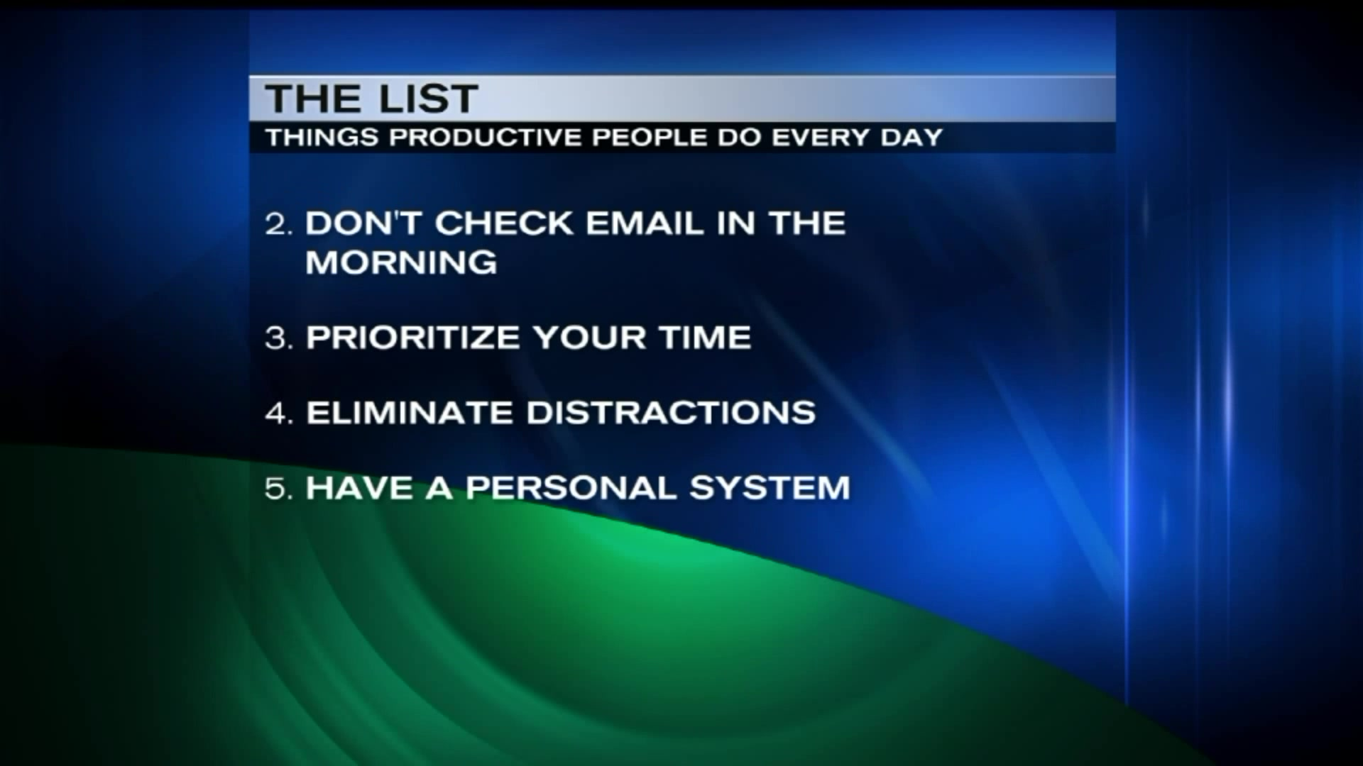 Top 5 Things That Highly Productive People Do Every Day