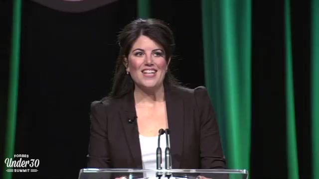 Monica Lewinsky Speaks About Ending Cyberbullying
