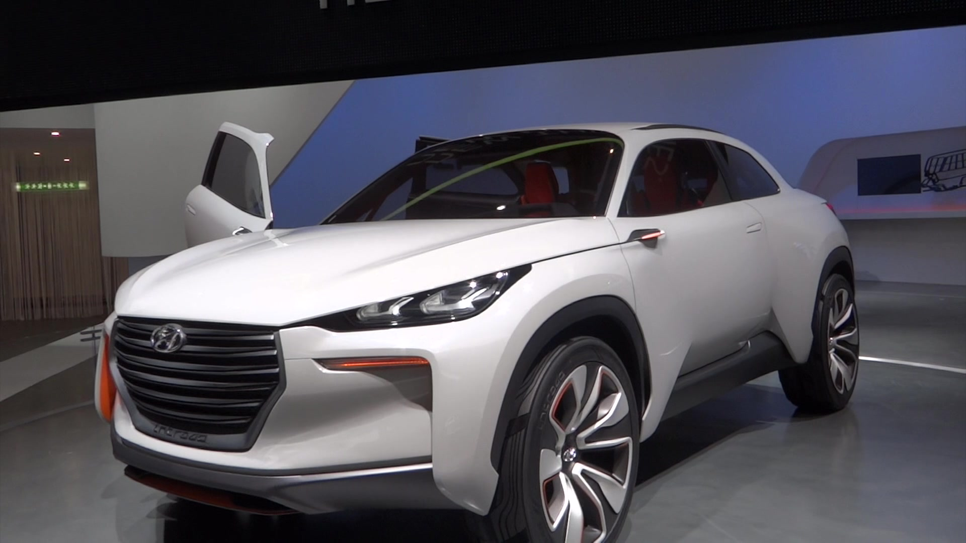 Hyundai Intrado Concept at the 2014 Geneva Motor Show