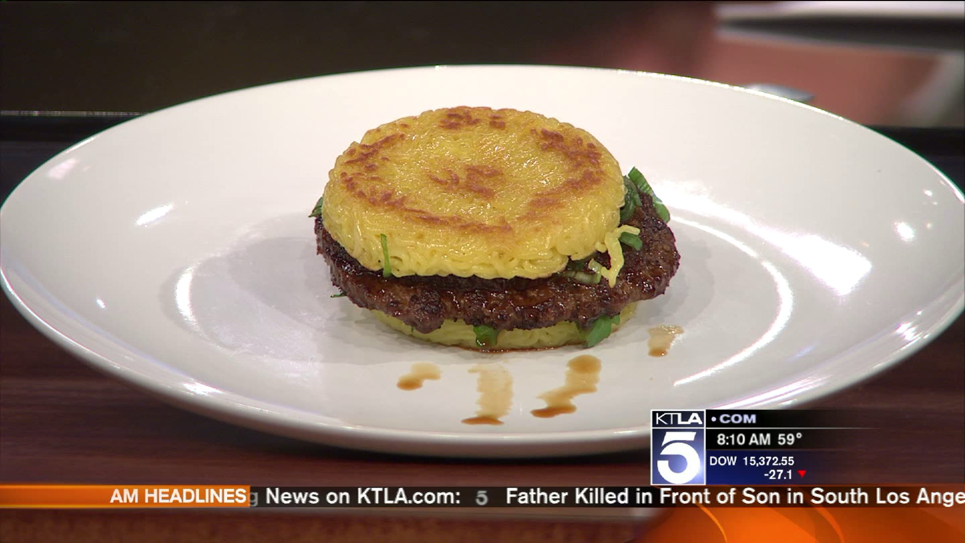 Chef Explains How He Came Up With Ramen Burger