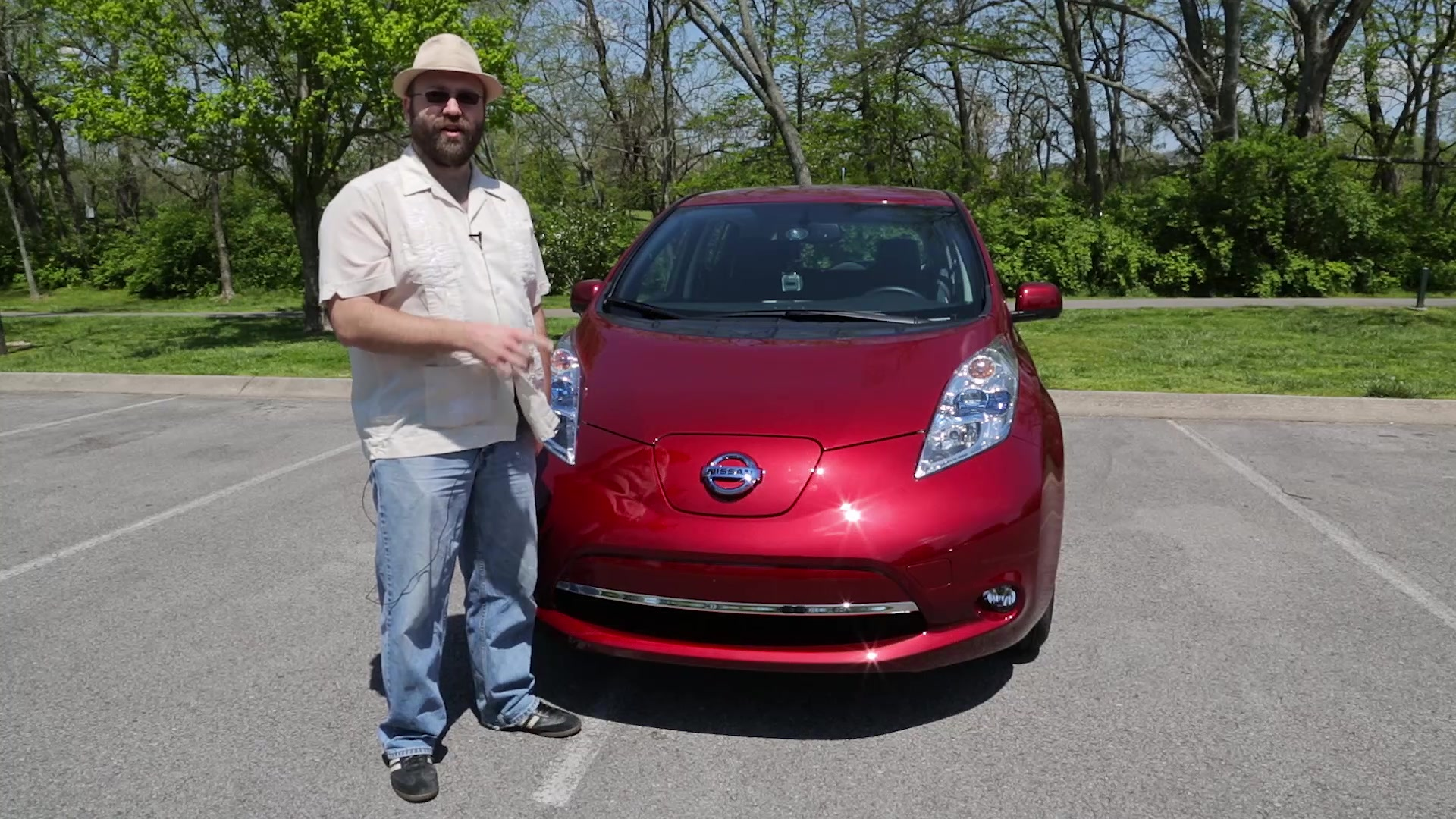 2013 Nissan LEAF Test Drive