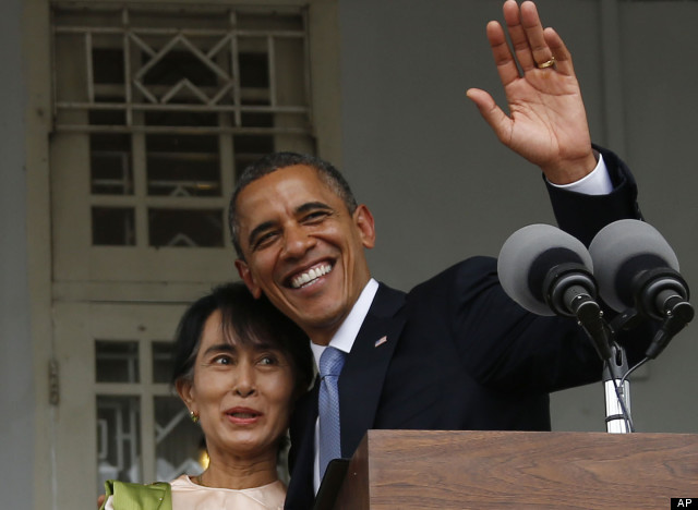 WATCH: Obama Makes Historic Visit To Myanmar & Cambodia