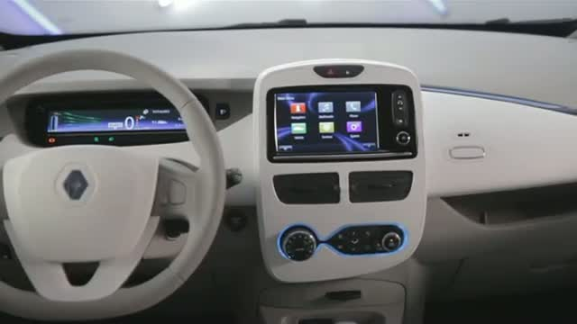 2012 Renault ZOE Car Interior