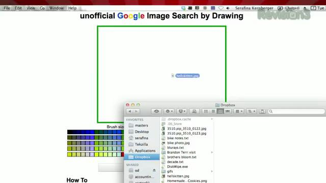 Search Google By Drawing