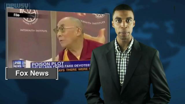 Dalai Lama Says Chinese Trying to Poison Him