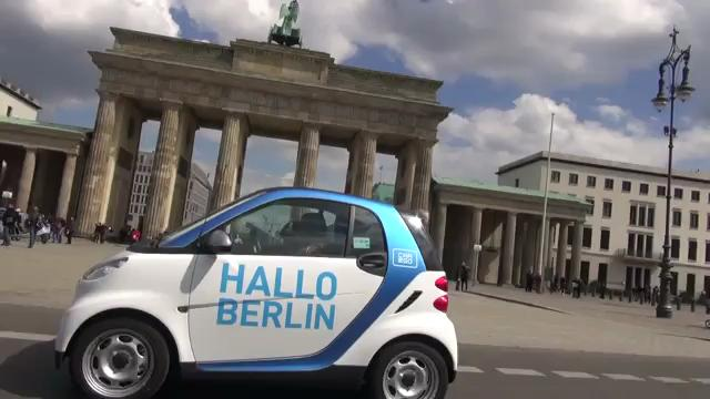 2012 Smart Car2go on the Streets of Berlin