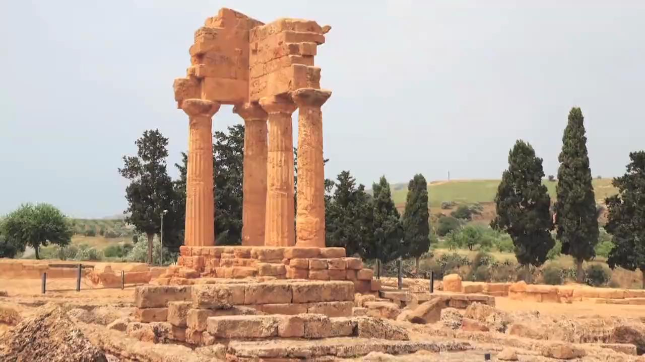 The Agrigento Ruins in Sicily, Italy