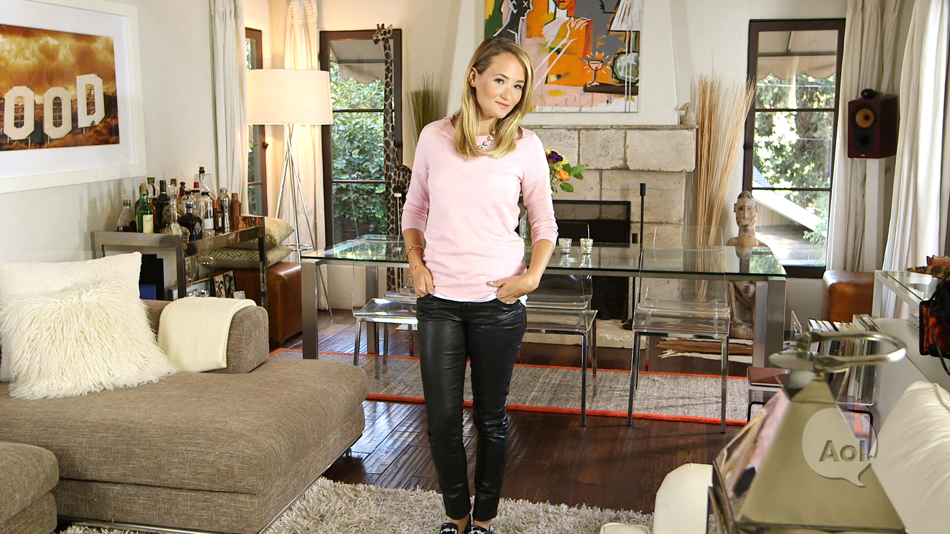 Get the Look: 3 Ways To Wear Leather Pants