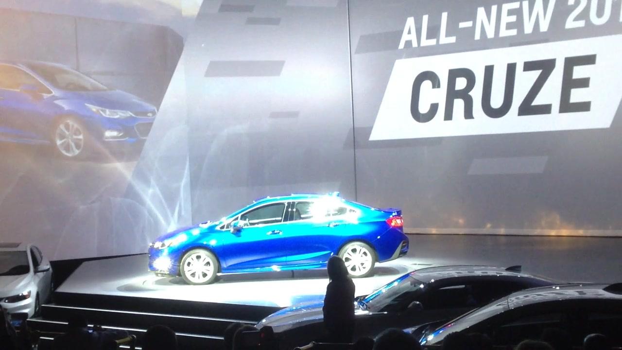 2016 Chevrolet Cruze Information