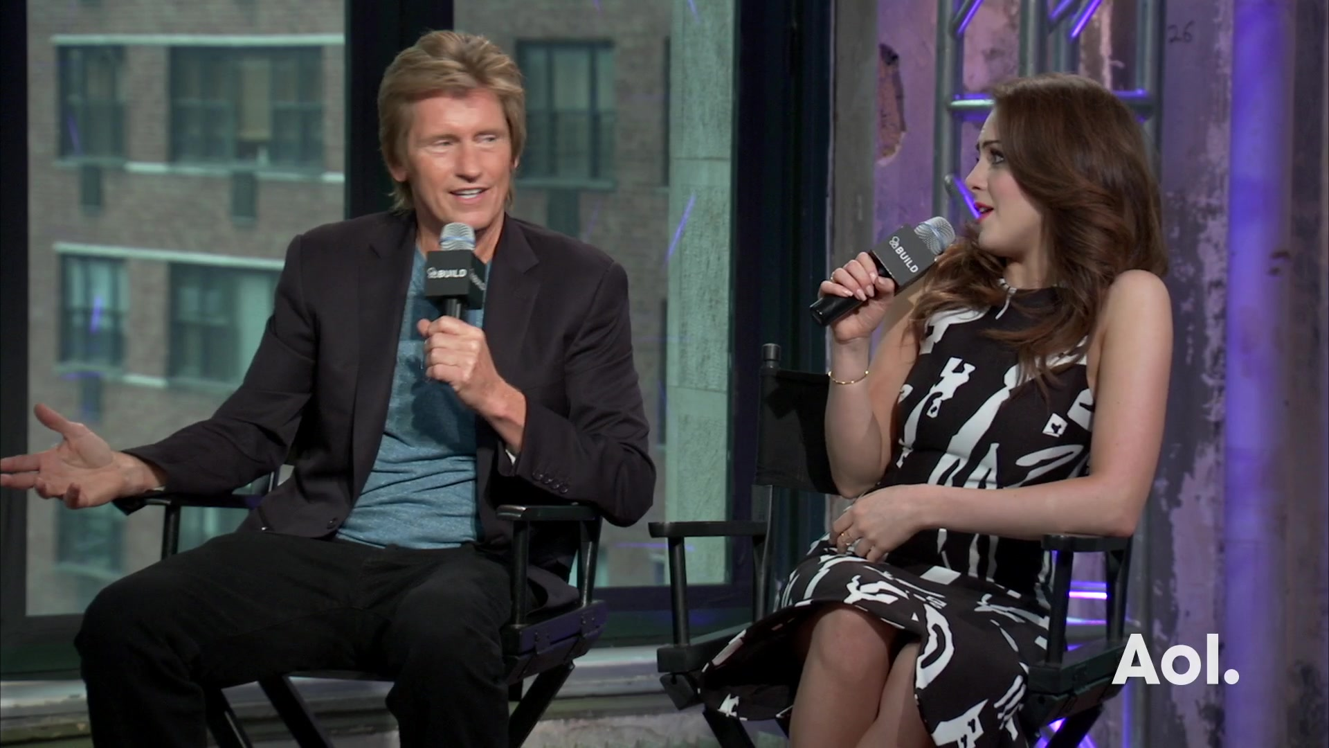 "Denis Leary and Liz Gillies on ""Sex&Drugs&Rock&Roll"""