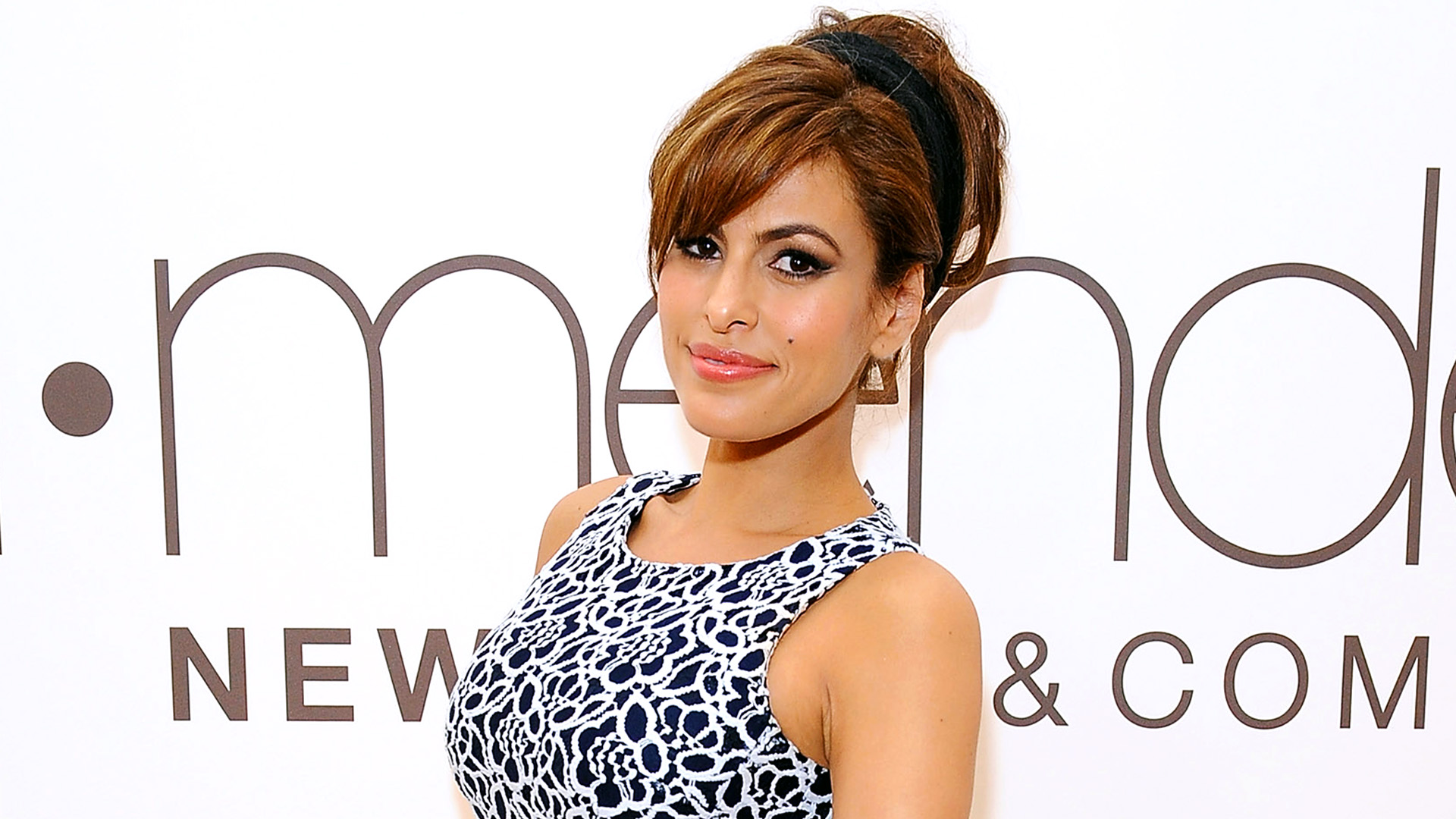 Eva Mendes Wore a $6 Dress to Her First Red Carpet