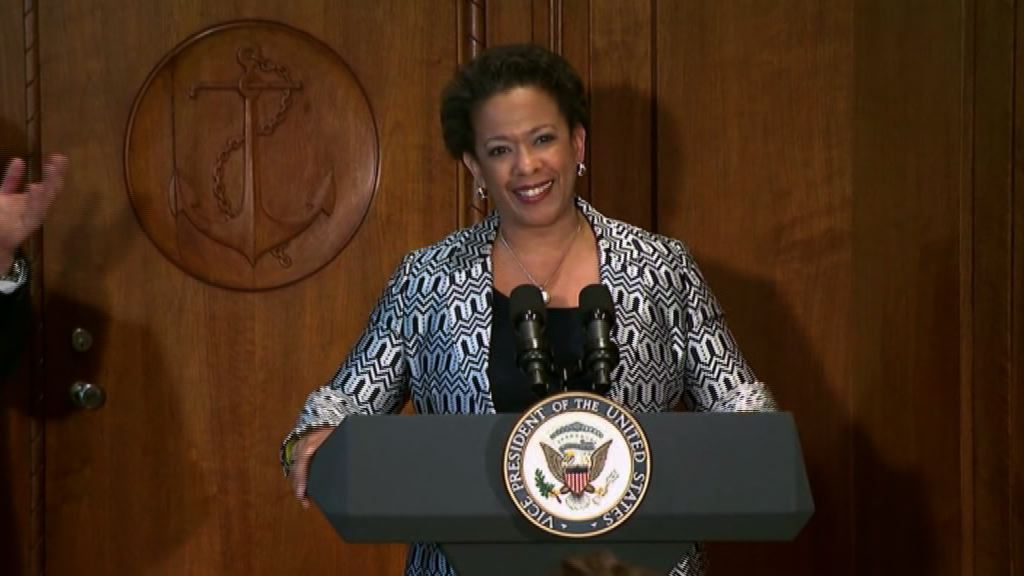 Loretta Lynch Sworn in as 83rd Attorney General