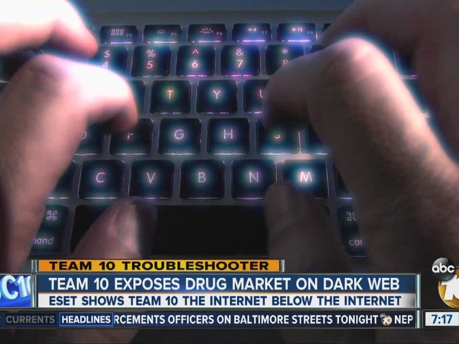 Team 10 Exposes Drug Market on 'Dark Web'