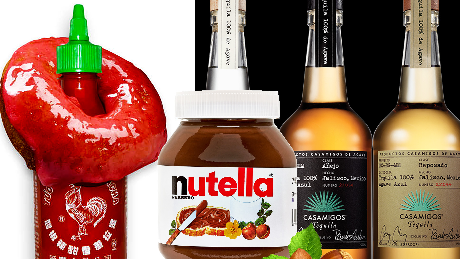 Food News Roundup: Get George Clooney's Tequila, Harlem Gets Sriracha Donut