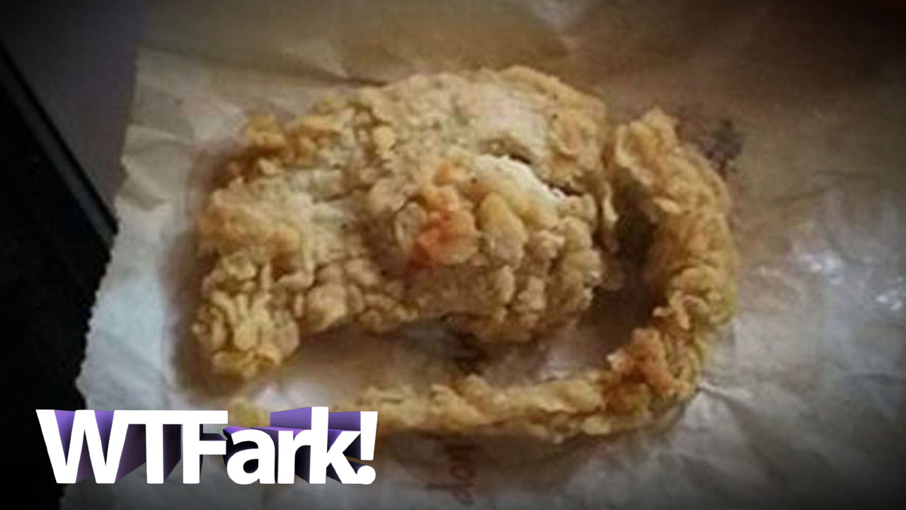 Los Angeles Man (Allegedly) Finds Fried Rat In His Bucket Of Chicken