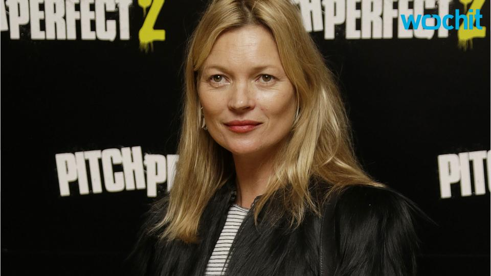 "Kate Moss Allegedly Escorted Off Airplane for ""Disruptive Behavior"""