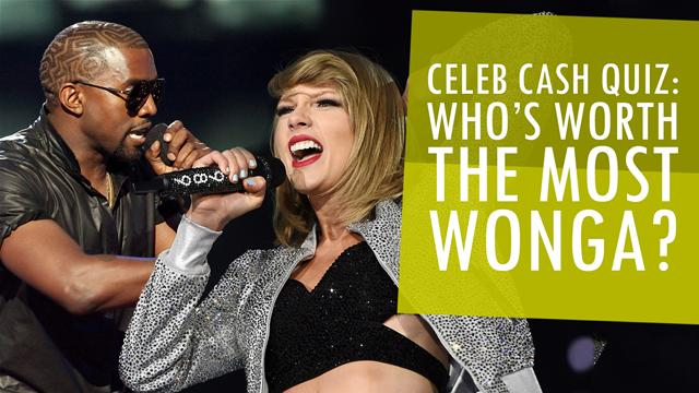 Quiz: Who Is Worth the Most Money?