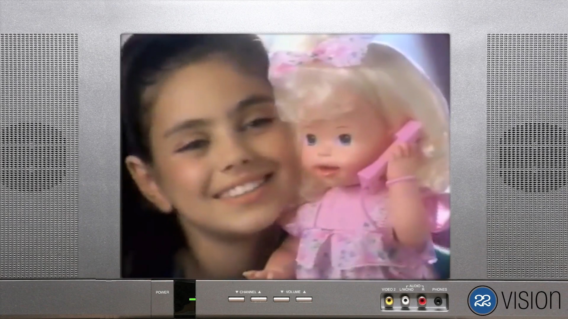 11-Year-Old Mila Kunis In 'Telephone Tammy' Doll Commercial