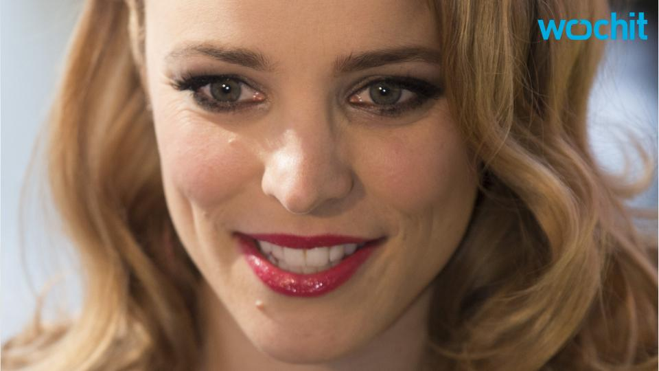 Rachel McAdams Is a Beautiful Bridesmaid at Sister's Wedding