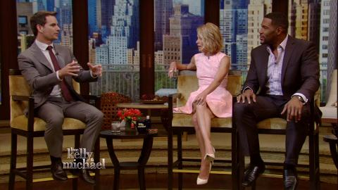 """LIVE with Kelly and Michael"": Jeff Gordon Careers"
