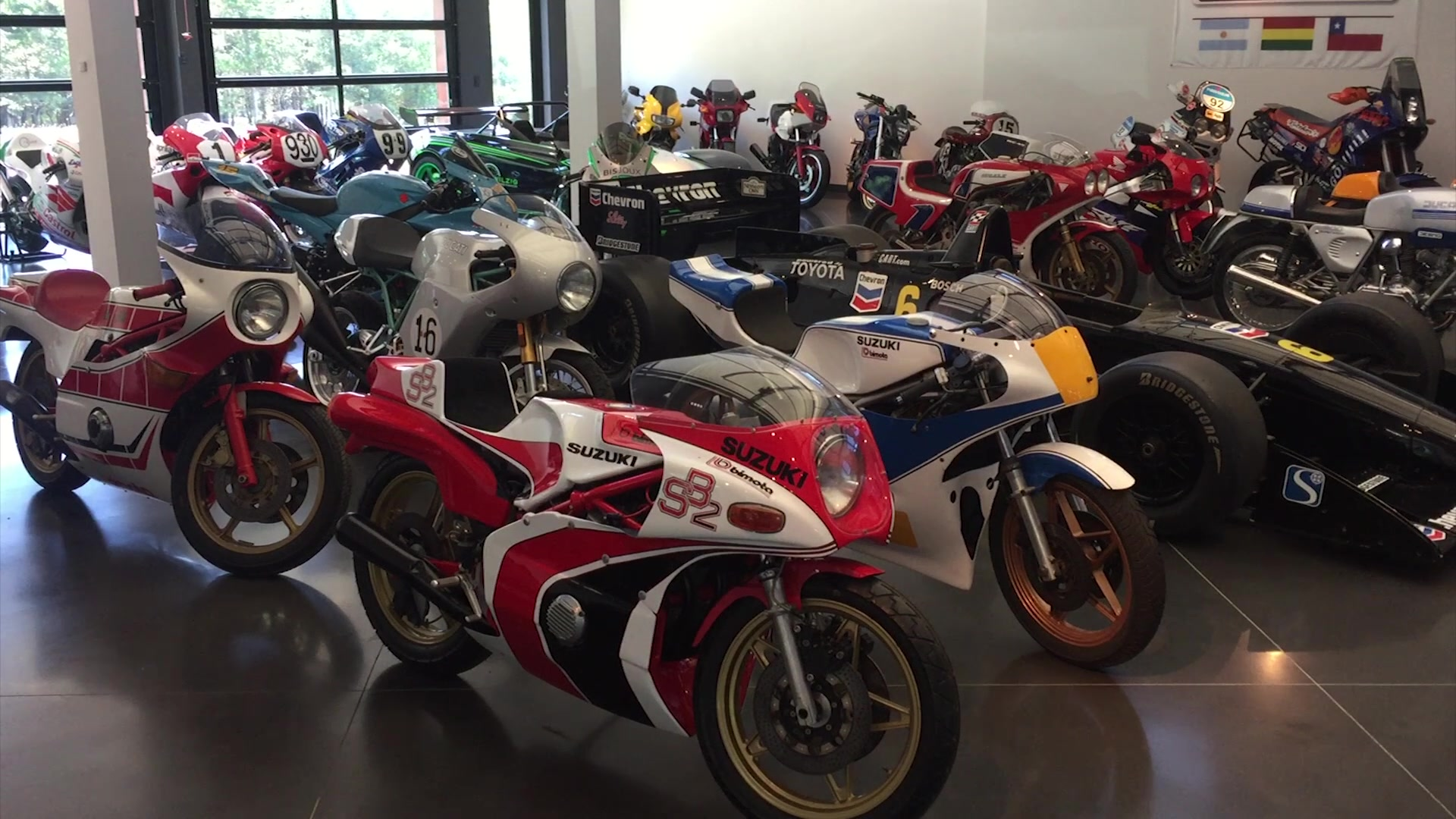 Wilzig Racing Manor Motorcycle Collection | On Location