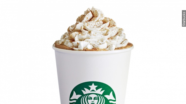 Starbucks' Pumpkin Spice Latte Now Contains Actual Pumpkin