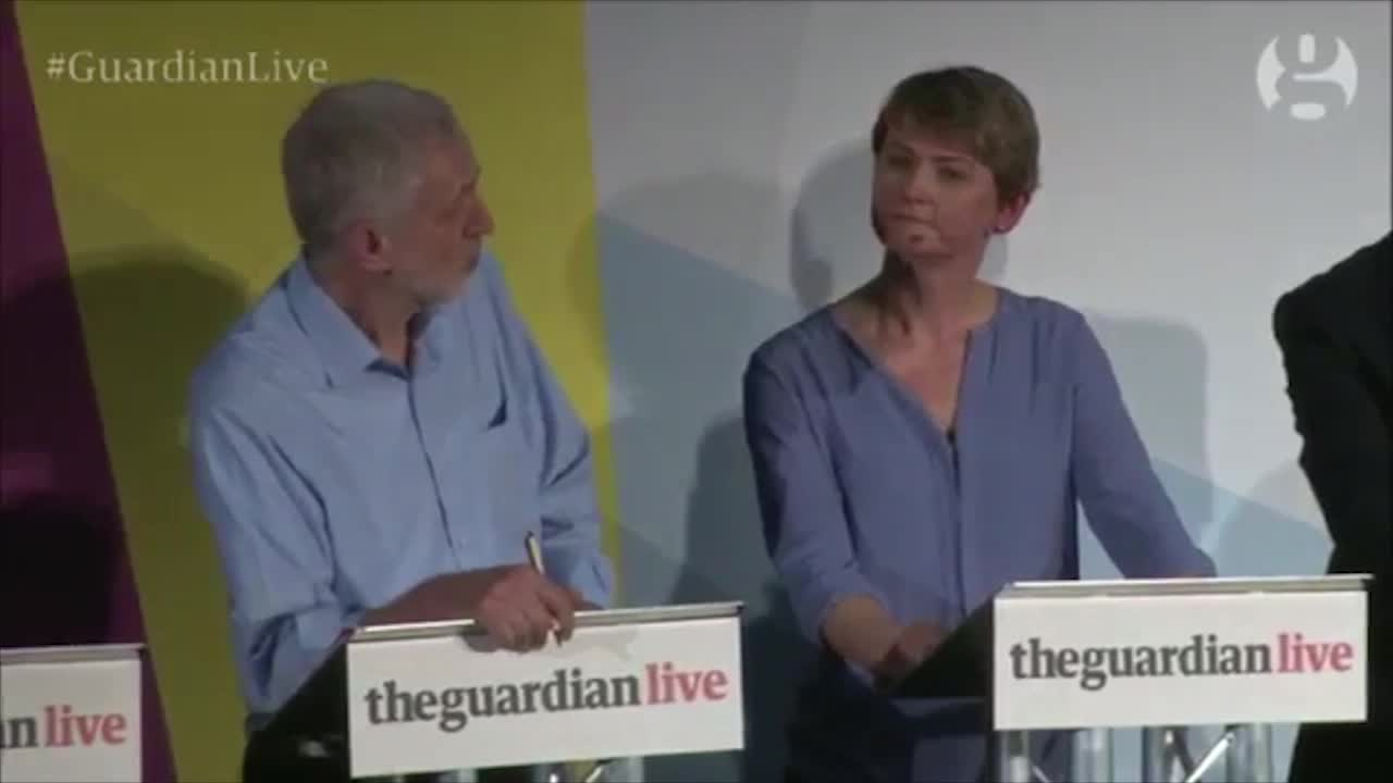 Jeremy Corbyn Says 'We Should Have a Heart' About Poverty