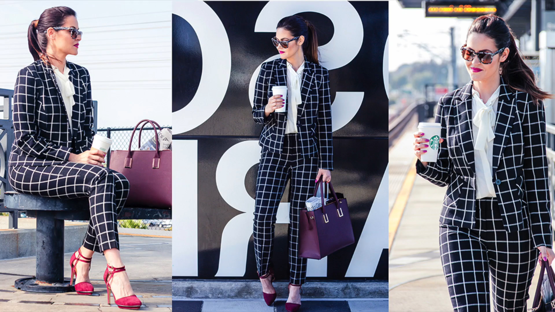 Fall Fashion Inspiration: The Plaid Suit
