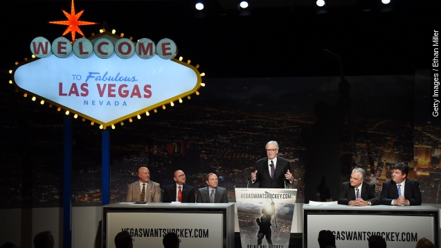 Las Vegas and Quebec City Bid for NHL Team; Seattle Is Out