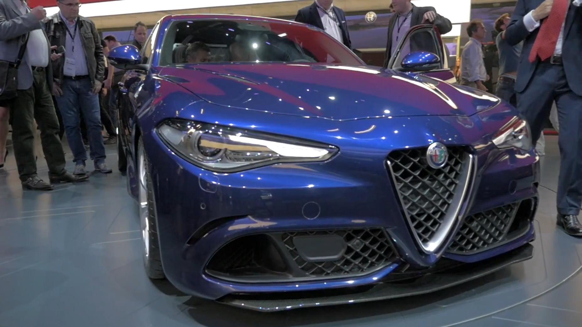 Alfa Romeo Stelvio Caught Hiding Under Ugly Black Camouflage Autoblog