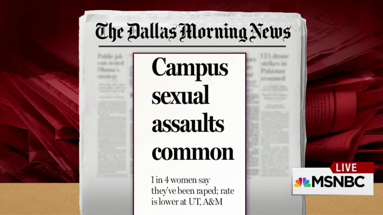 Study Reveals Shocking Campus Assault Numbers
