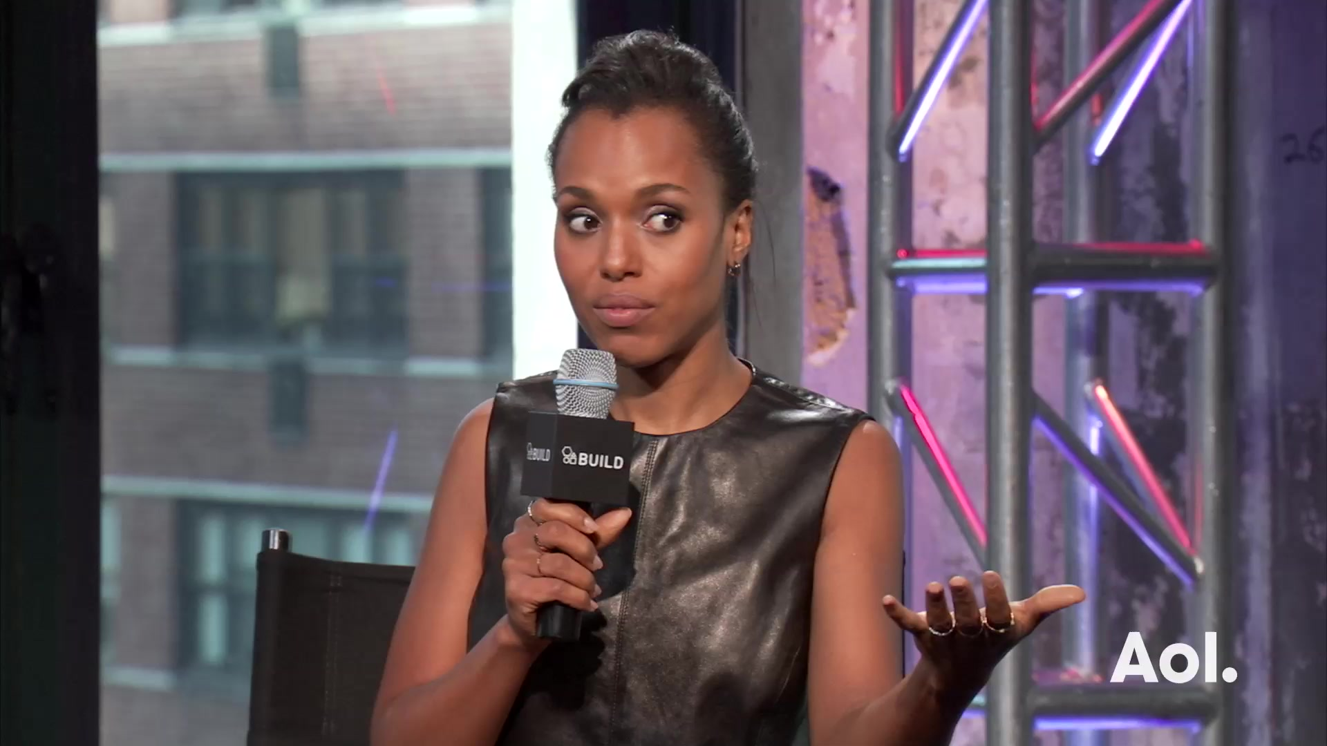 Kerry Washington's Involvement with Purple Purse