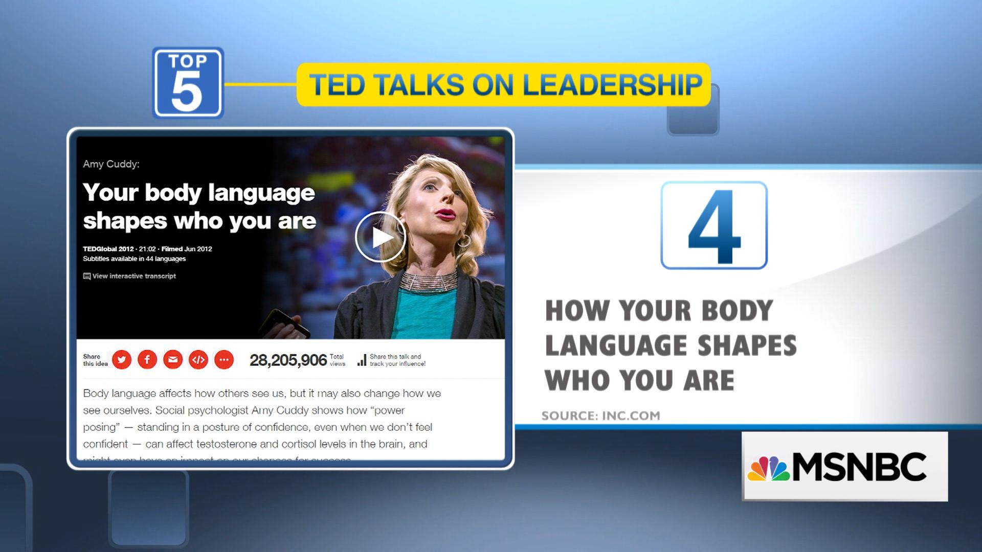5 TED Talks to Improve Your Leadership Skills