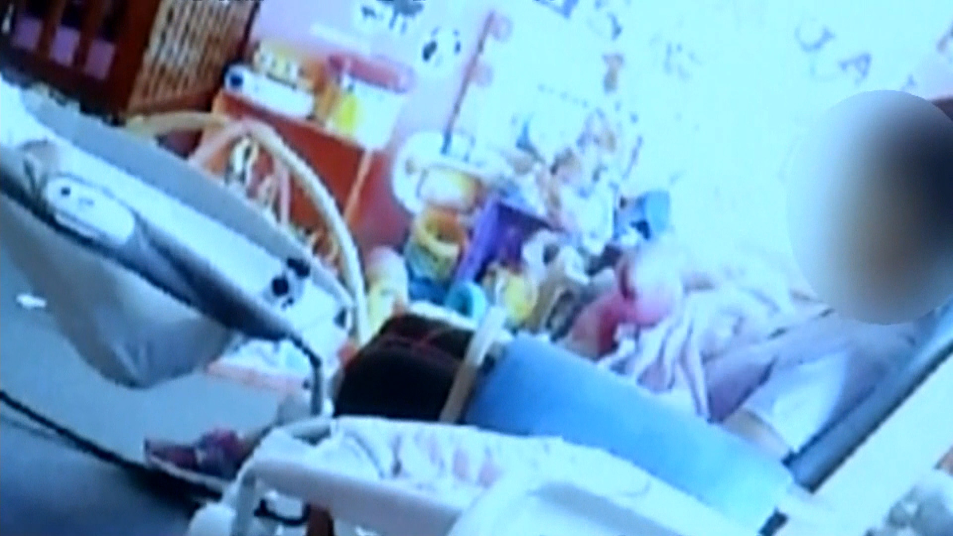 Shocking Video Shows Daycare Worker Roughly Rocking Baby