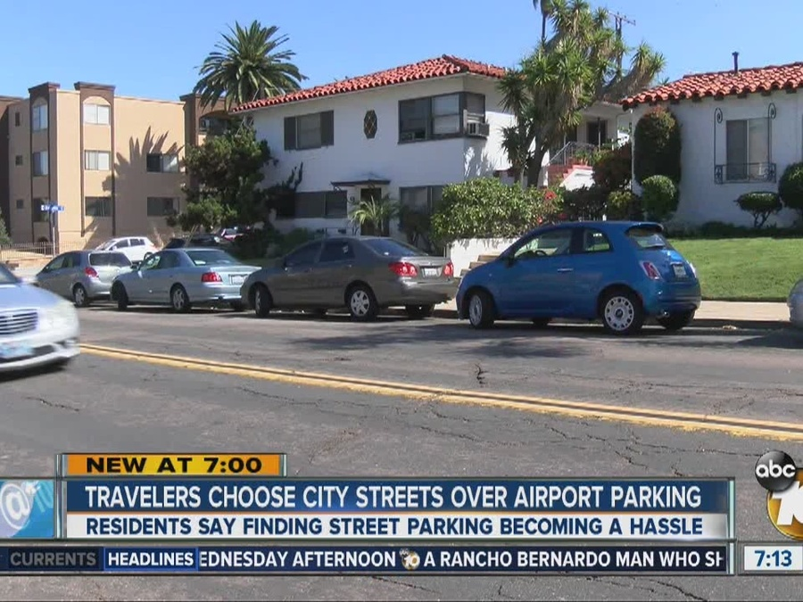 Travelers Choose City Streets Over Airport Parking