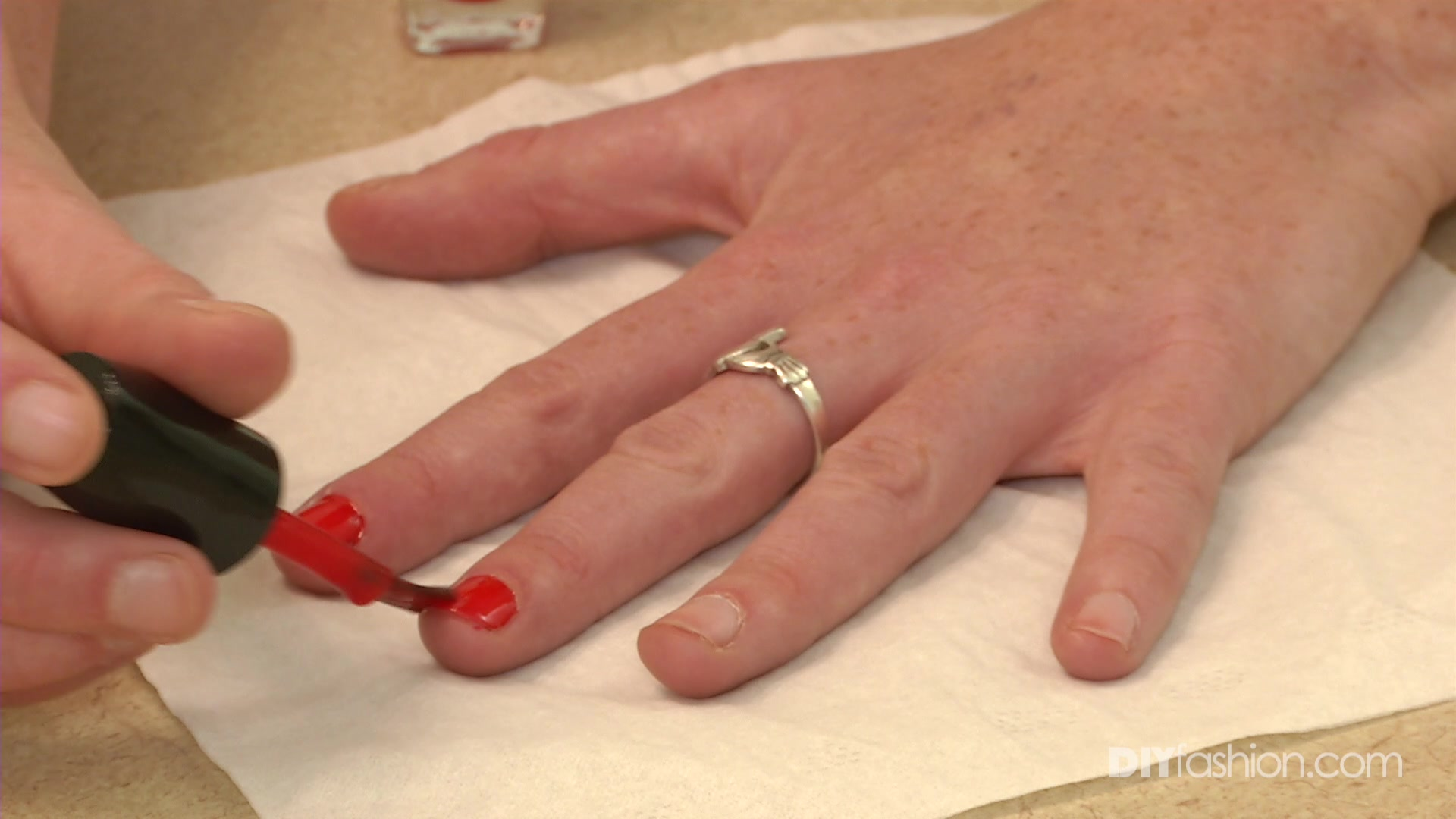 The Secret to a Perfect Red Manicure