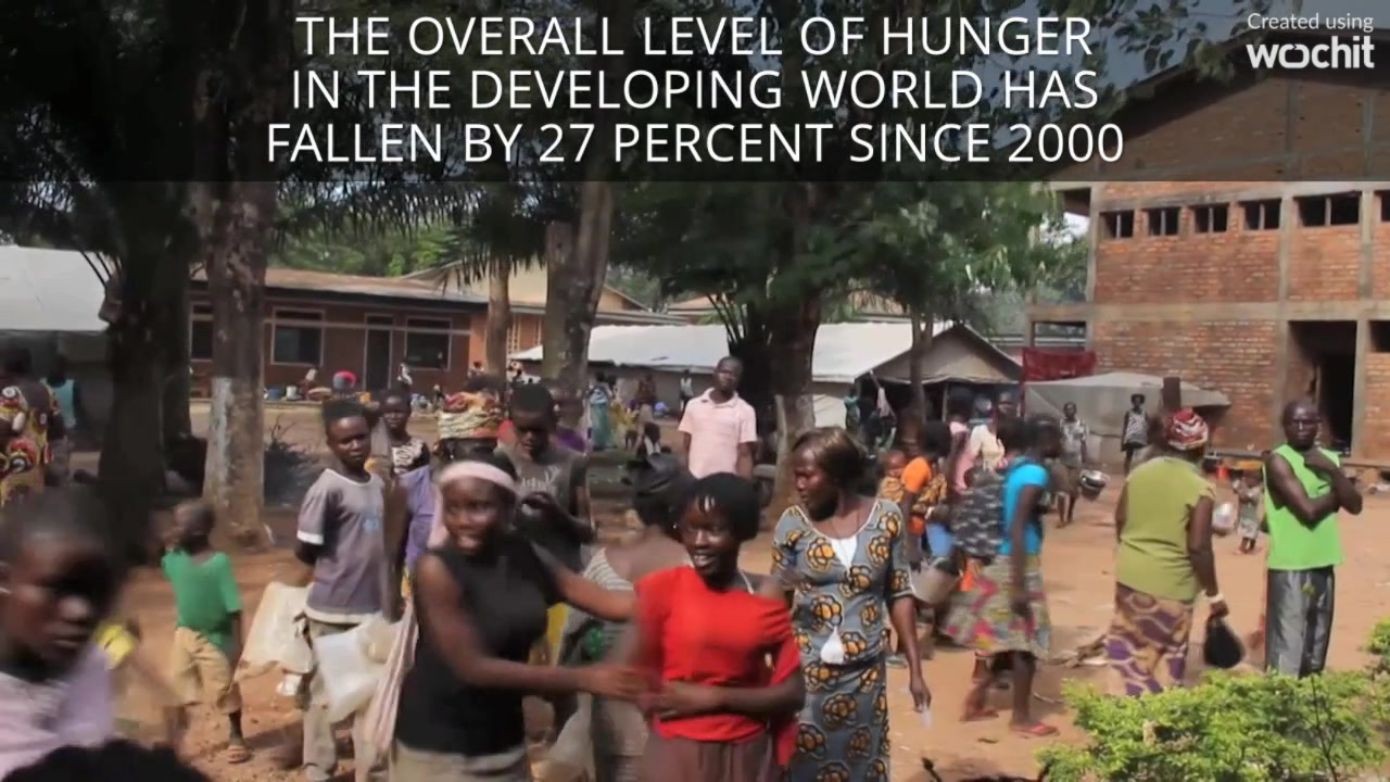 Major Reduction In World Hunger