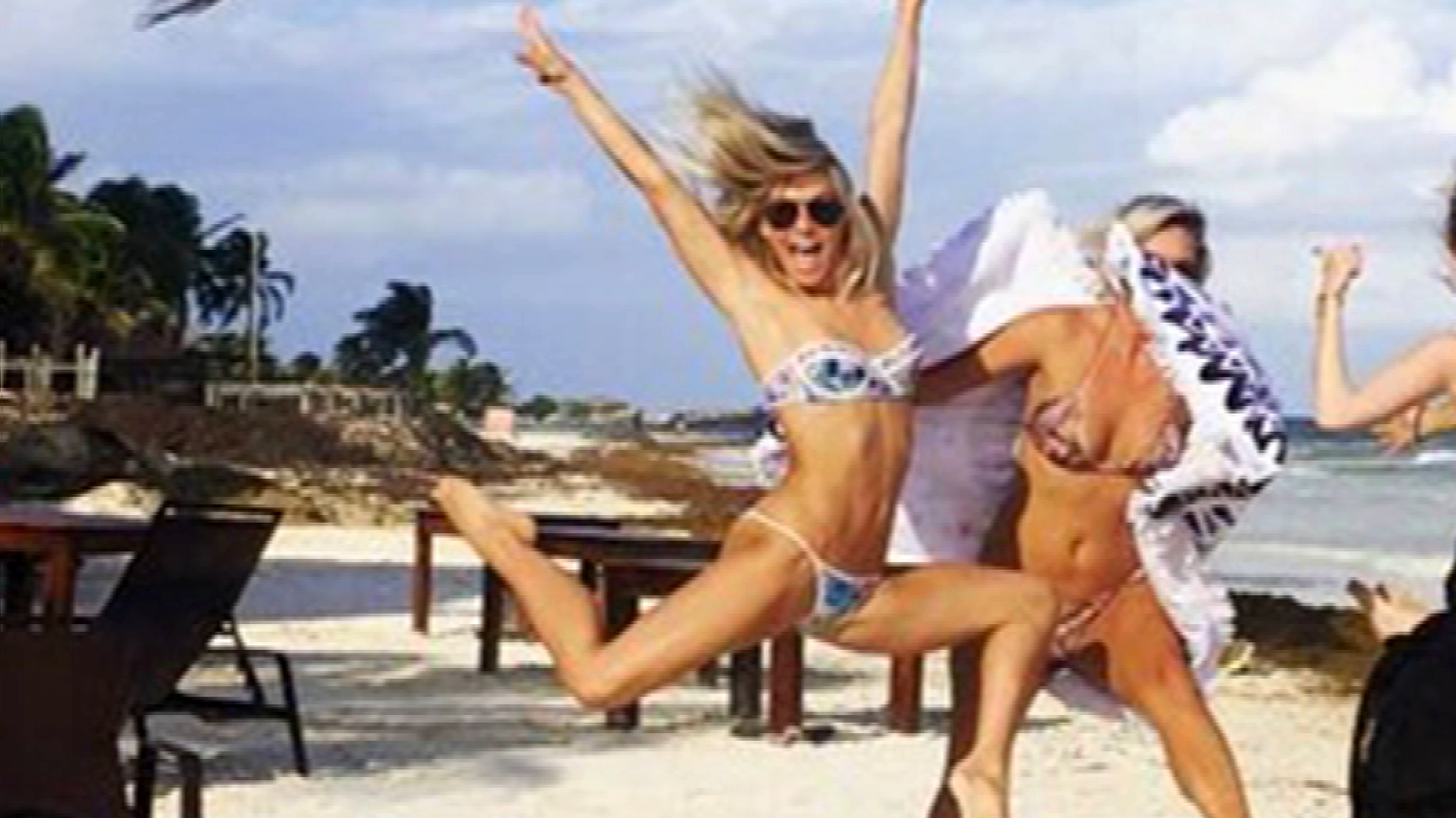 Julianne Hough Takes Her Bikini to New Heights