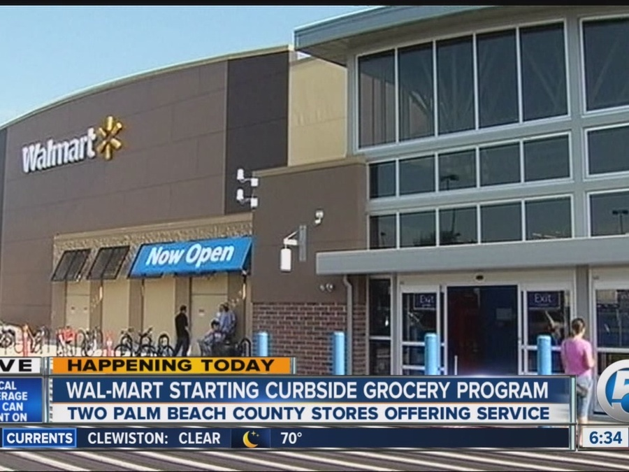 Walmart to Offer Curbside Pickup at Two Palm Beach County Locations